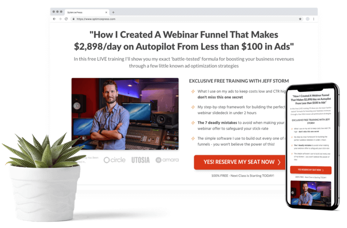 Build your list of leads and subscribers
